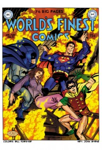 Bill Forster Colors DC World's Finest Comic Book Coloring