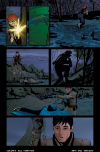 Bill Forster Colors IDW G.I. Joe Comic Book Coloring