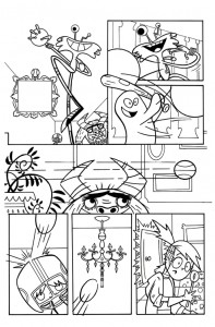 Comic Artist Bill Forster_Foster's Home for Imaginary Friends_Comic Book Art