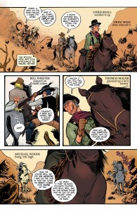 Outlaw Territory_Comic Book Coloring_Comic Book Artist Bill Forster