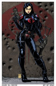 Bill_Forster_Comic Book Coloring_Baroness Art