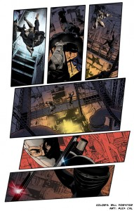 Bill_Forster_Comic Book Coloring_G.I. Joe Art Snakeeyes