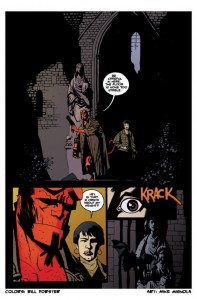 bill_forster_Art_portfolio_Hellboy_Comic Book Coloring