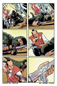 Bill_Forster_Comic Book Coloring_G.I. Joe Art