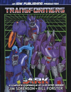 Bill_Forster_Transformers_The_Ark_book_Coloring_Comic Book Art