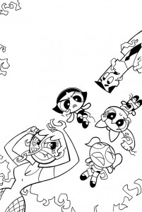 bill_forster_powerpuffgirls_Sedusa_Comic Book Art