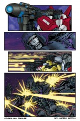 Transformers Comic Colorist Bill Forster