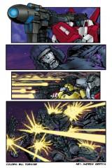 Transformers Comic Colorist Bill Forster