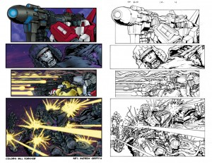 Transformers_Comic Book Coloring_Bill_Forster