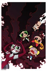 Powerpuff Girls by comic artist Bill Forster