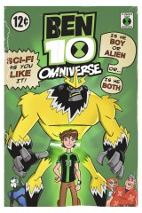 Ben10 Shocksquatch by Comic Artist Bill Forster