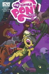My Little Pony Cover #16 Daring Do by Comic Artist Bill Forster