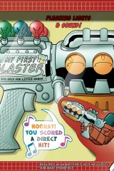Transformers: Swerve My First Blaster comic art Bill Forster