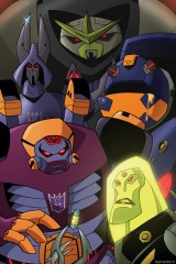 Transformers Animated Team Chaar comic art Bill Forster