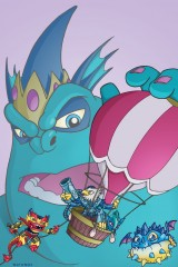 Skylanders Fire Kraken comics art