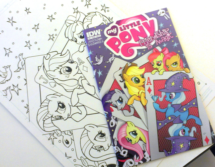 pony forster comic cover
